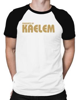 Property Of Kaelem Raglan T-Shirt