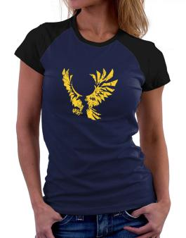 Eagle With Open Wings Women Raglan T-Shirt