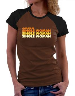 Abeni Single Woman Women Raglan T-Shirt