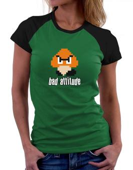 Polo Raglan de Bad Attitude