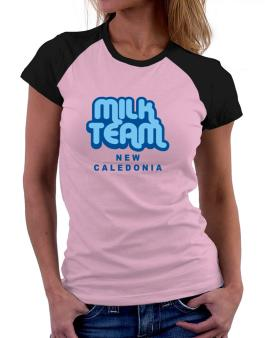 Milk Team New Caledonia Women Raglan T-Shirt