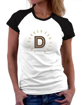 The Darren Fan Club Women Raglan T-Shirt