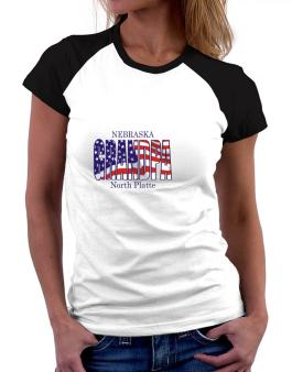Grandpa North Platte - Us Flag Women Raglan T-Shirt