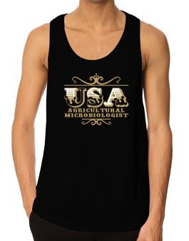 Usa Agricultural Microbiologist Tank Top