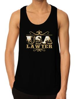 Usa Lawyer Tank Top
