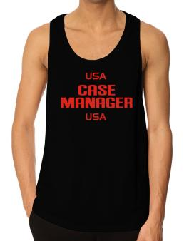 Usa Case Manager Usa Tank Top