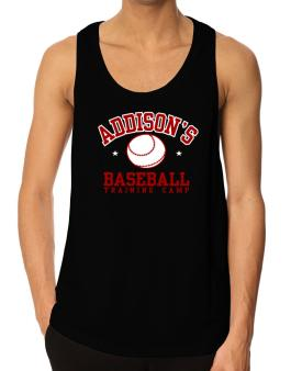 Addisons Baseball Training Camp Tank Top