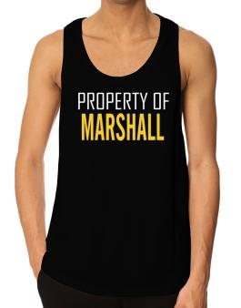 Property Of Marshall Tank Top