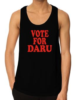 Vote For Daru Tank Top