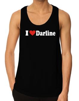 I Love Darline Tank Top
