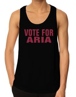 Vote For Aria Tank Top