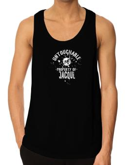Untouchable Property Of Jacqui - Skull Tank Top