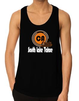 South Lake Tahoe - State Tank Top