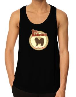 Dog Addiction : American Eskimo Dog Tank Top
