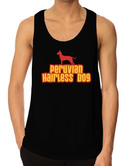 Breed Color Peruvian Hairless Dog Tank Top