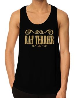 Rat Terrier - Ornaments / Urban Style Tank Top