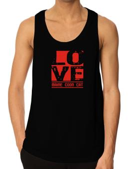 Love Maine Coon Tank Top
