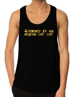 Owned By An Aegean Cat Tank Top