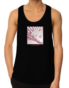 Jazz - Musical Notes Tank Top