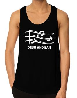 Drum And Bass - Musical Notes Tank Top