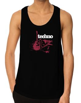 Techno - Feel The Music Tank Top