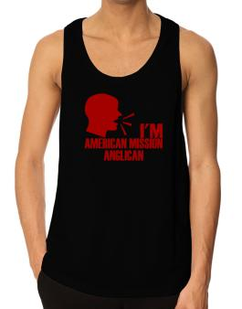 Im American Mission Anglican - Face Tank Top
