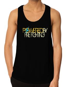 Powered By Fire Fighting Tank Top