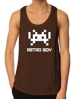 Retro Boy Tank Top