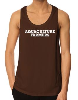 Aquaculture Farmers Simple Tank Top