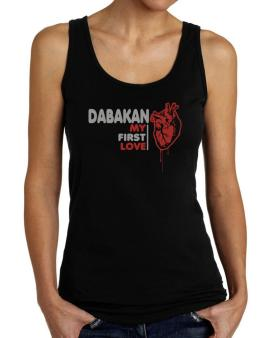 Dabakan My First Love Tank Top Women