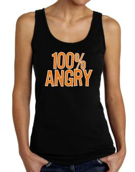100% Angry Tank Top Women