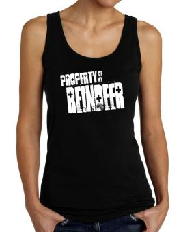 Property Of My Reindeer Tank Top Women
