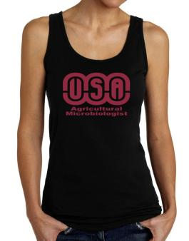 Usa Agricultural Microbiologist Tank Top Women