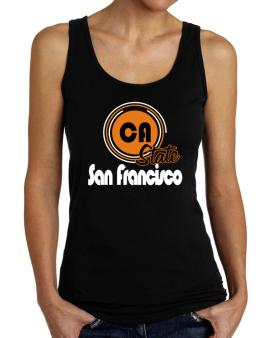 San Francisco - State Tank Top Women