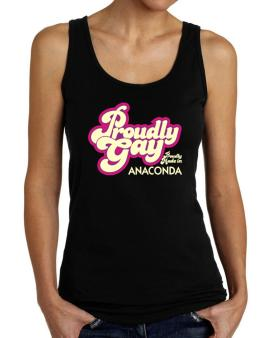Proudly Gay, Proudly Made In Anaconda Tank Top Women