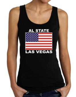 """ Las Vegas - US Flag "" Tank Top Women"
