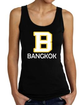 """ Bangkok - Initial "" Tank Top Women"