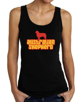 Breed Color Australian Shepherd Tank Top Women