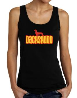 Breed Color Dachshund Tank Top Women