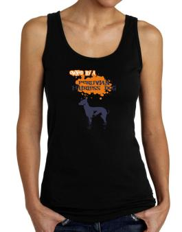 Owned By A Peruvian Hairless Dog Tank Top Women