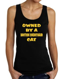 Owned By S British Shorthair Tank Top Women