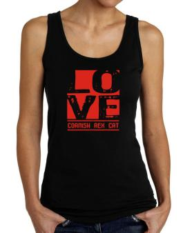 Love Cornish Rex Tank Top Women