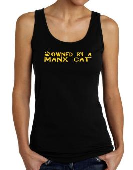 Owned By A Manx Tank Top Women