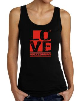 Love Abecedarian Tank Top Women
