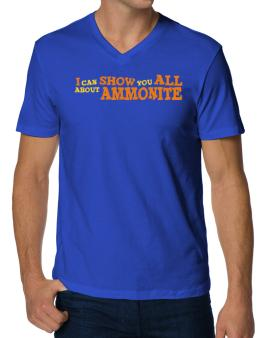 I Can Show You All About Ammonite V-Neck T-Shirt