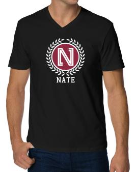Nate - Laurel V-Neck T-Shirt