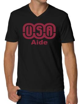 Usa Aide V-Neck T-Shirt