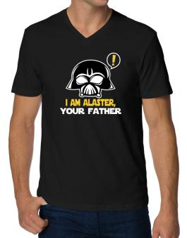 I Am Alaster, Your Father V-Neck T-Shirt