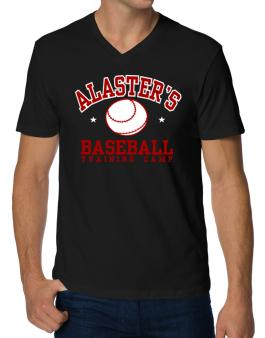 Alasters Baseball Training Camp V-Neck T-Shirt