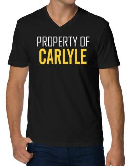 Property Of Carlyle V-Neck T-Shirt